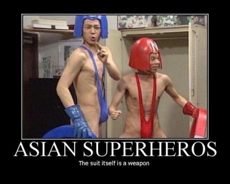 Super-heróis!